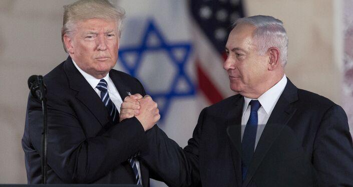 Donald Trump a Benjamin Netanjahu. Ilustrační foto