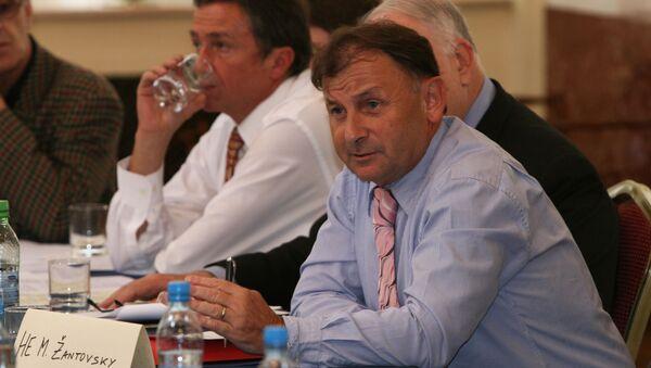 Michael Žantovský. Ilustrační foto - Sputnik Česká republika