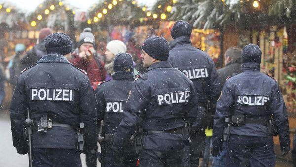 Rakouská policejní hlídka - Sputnik Česká republika