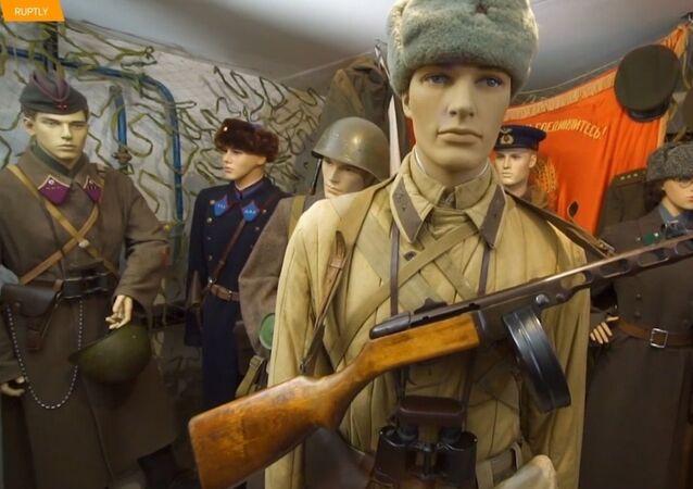 Bitva u Stalingradu ve sklepě obytného domu. Jedinečná sbírka obyvatele Volgogradu
