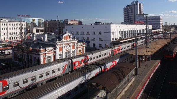 Железнодорожный вокзал Нижнего Новгорода - Sputnik Česká republika