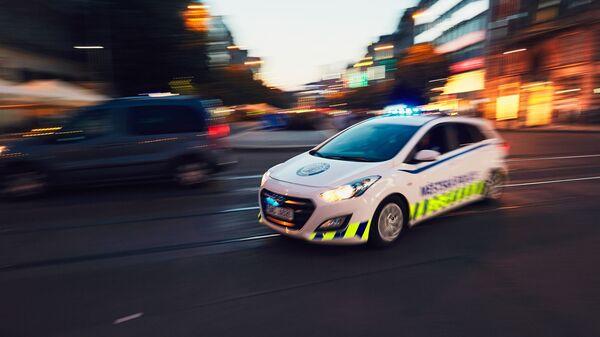 Policejní auto v Praze - Sputnik Česká republika