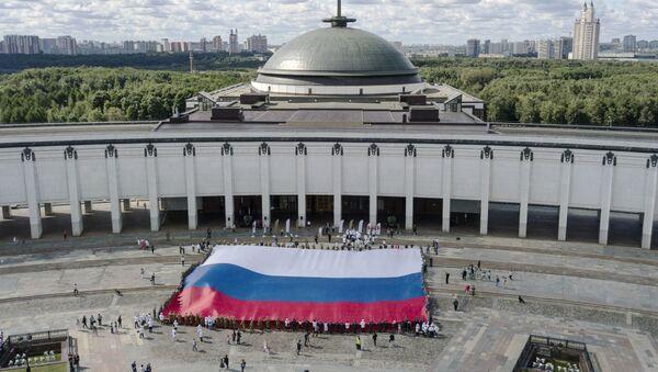 Vlajka Ruska v Moskvě - Sputnik Česká republika