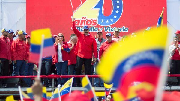 Prezident Venezuelské republiky Nicolas Maduro  - Sputnik Česká republika