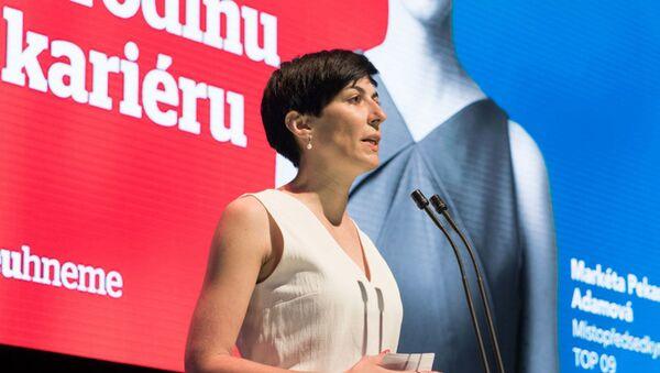 Politička Markéta Adamová. - Sputnik Česká republika