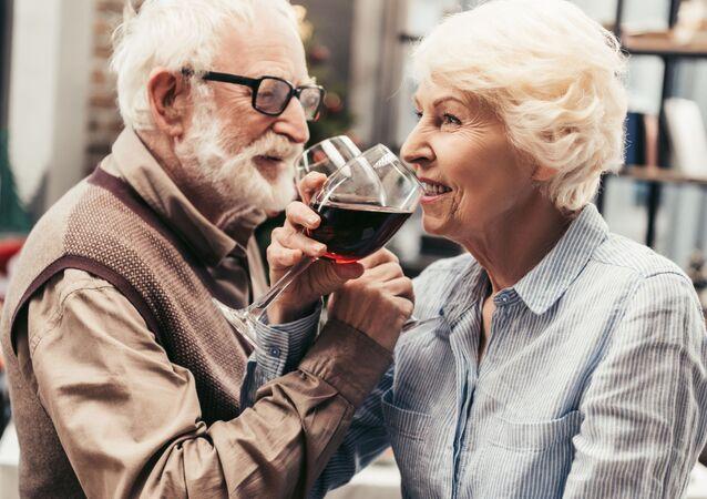 Starší manželský pár