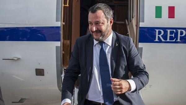 Matteo Salvini - Sputnik Česká republika