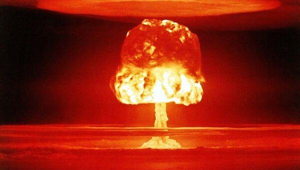 Jaderná exploze - Sputnik Česká republika