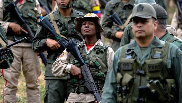 Venezuelští vojáci - Sputnik Česká republika