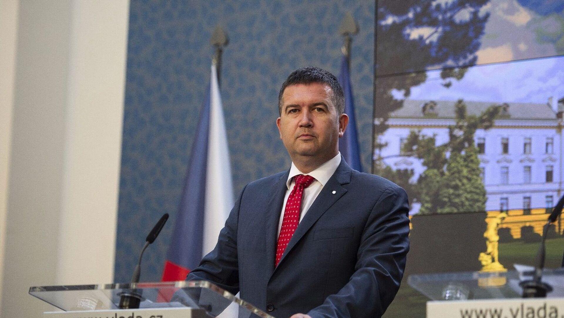 Lídr ČSSD a ministr vnitra Jan Hamáček - Sputnik Česká republika, 1920, 08.03.2021
