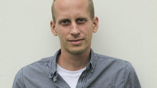 Novinář a člen Občanského institutu Matyáš Zrno - Sputnik Česká republika