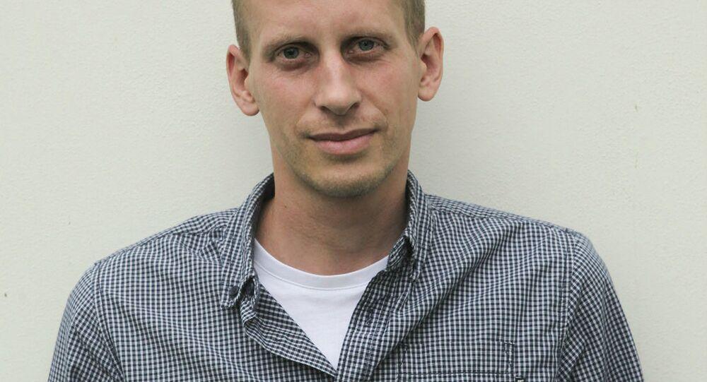 Novinář a člen Občanského institutu Matyáš Zrno