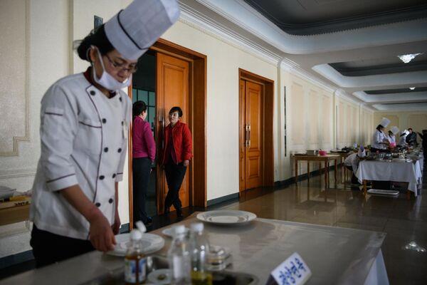 Národní kuchařská soutěž v KLDR - Sputnik Česká republika