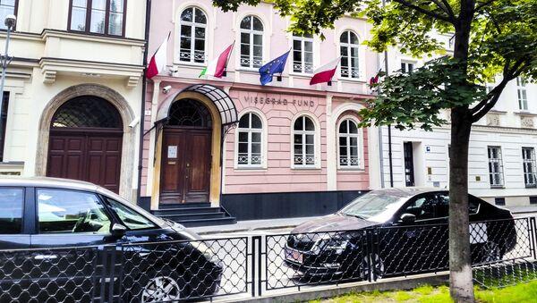 Vlajky zemí V4 - Sputnik Česká republika