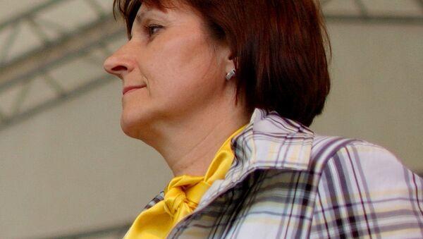 První místopředsedkyně KDU-ČSL Michaela Šojdrová v období při volbách do Poslanecké sněmovny Parlamentu ČR 2010 - Sputnik Česká republika