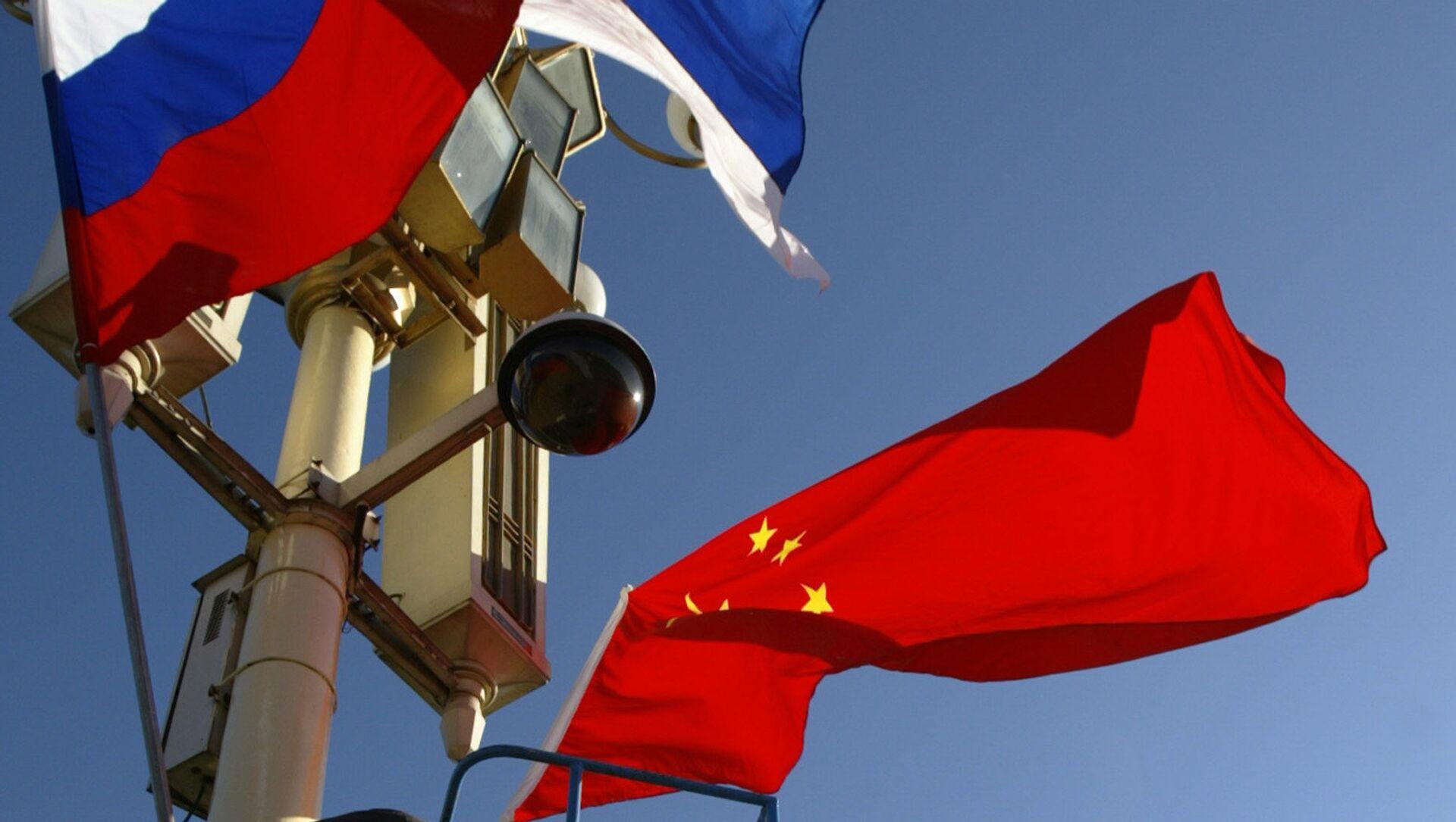 Vlajky Ruska a Číny - Sputnik Česká republika, 1920, 23.03.2021