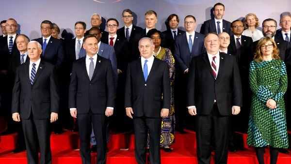 Účastníci konference o Blízkém východě ve Varšavě - Sputnik Česká republika