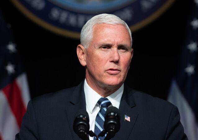 Viceprezident USA Mike Pence