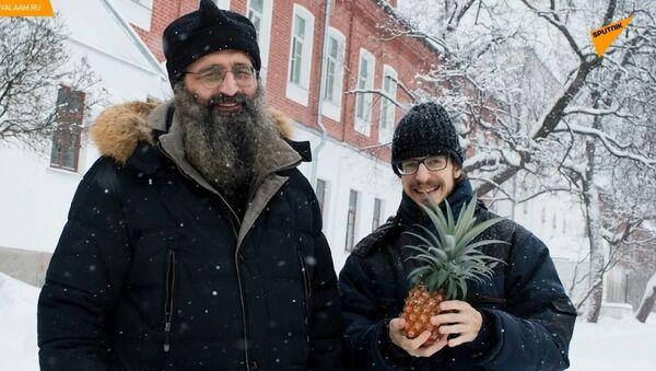 Mniši v severním Rusku pěstují... ananasy! - Sputnik Česká republika