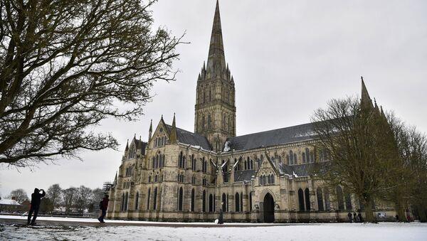 Katedrála Panny Marie v Salisbury - Sputnik Česká republika