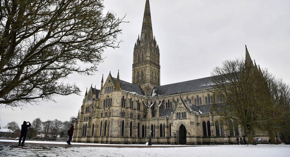 Katedrála Panny Marie v Salisbury