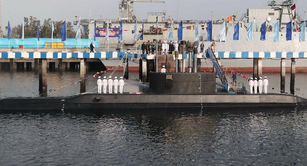 Íránská ponorka Fatech