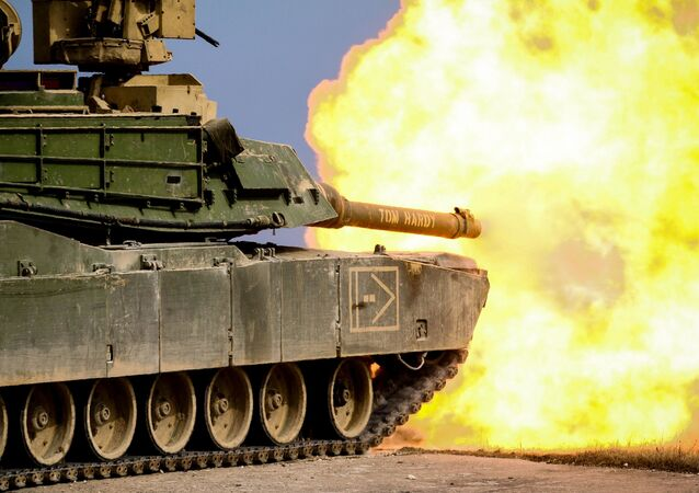 Amreický tank M1 Abrams