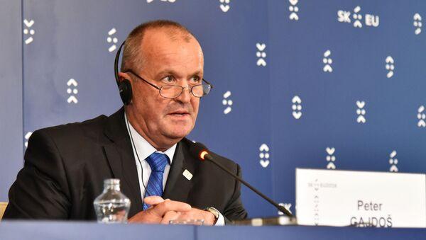 Slovenský ministr obrany Peter Gajdoš (SNS)  - Sputnik Česká republika