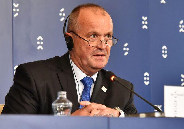 Slovenský ministr obrany Peter Gajdoš (SNS)