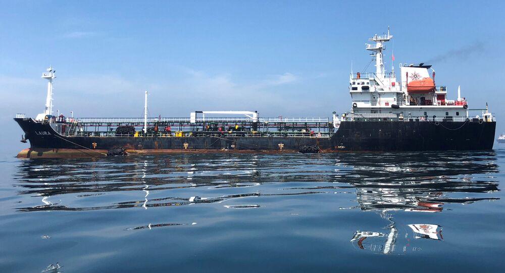 Venezuelský ropný tanker