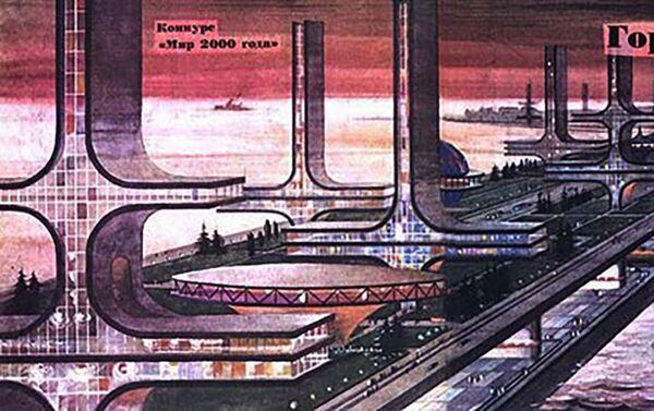 Проект города 2000-го года в Беринговом проливе 1 - Sputnik Česká republika