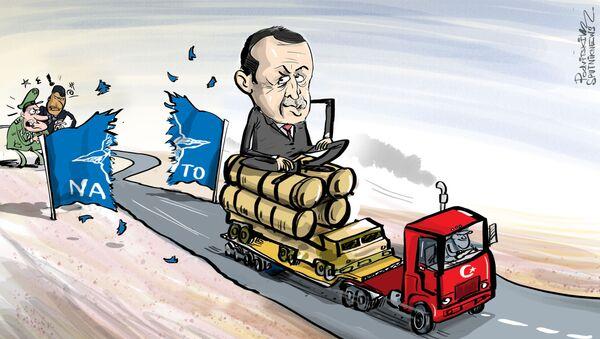 Erdoğan neoblomně trvá na svém ohledně S-400 - Sputnik Česká republika