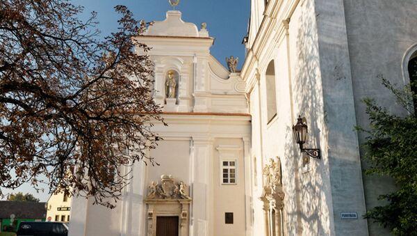 Kostel svatého Jana Křtitele v Mikulově - Sputnik Česká republika