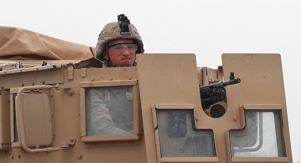 Americký voják v Sýrii