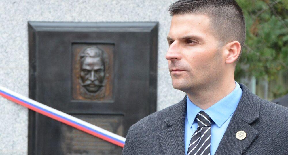 Prezidenský kandidát Róbert Švec