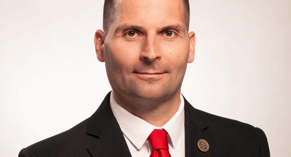 Prezidentský kandidát Róbert Švec