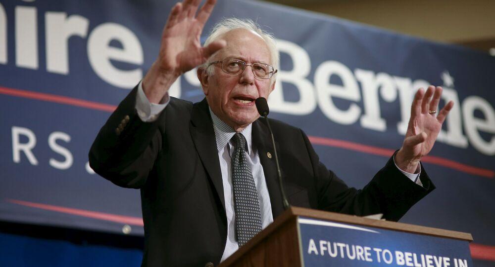 Americký politik Bernie Sanders