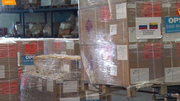 Rusko přivezlo 7 tun humanitární pomoci Venezuele - Sputnik Česká republika