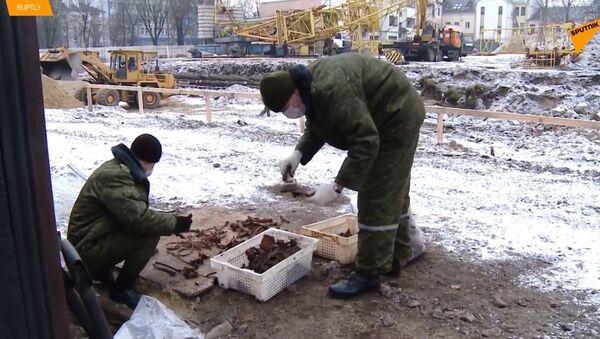 V Bělorusku byly nalezeny pozůstatky asi 600 obětí holocaustu - Sputnik Česká republika