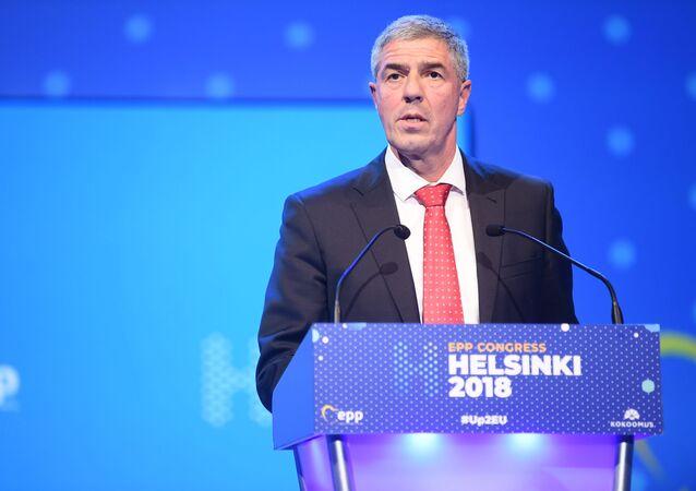Předseda slovenské strany Most-Híd Béla Bugár