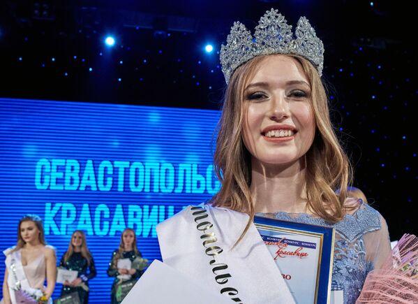 Anna Seňkovec. Vítězka soutěže Krasavice Sevastopolu 2019 - Sputnik Česká republika
