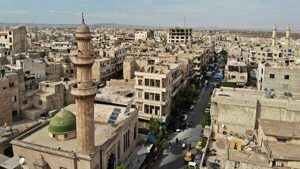Pohled na Idlib, Sýrie - Sputnik Česká republika