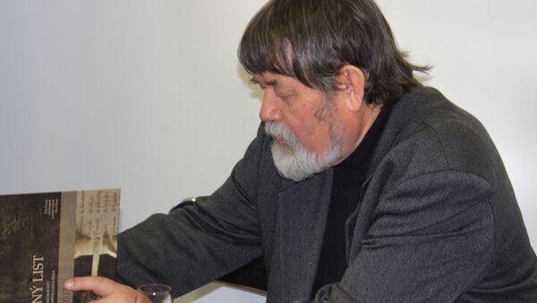 profesor Petr Čornej - Sputnik Česká republika