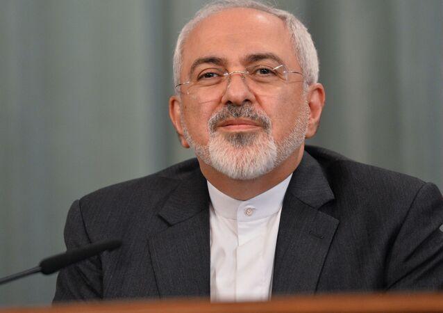 Íránský ministr zahraničních věci Mohammad Džavád Zaríf