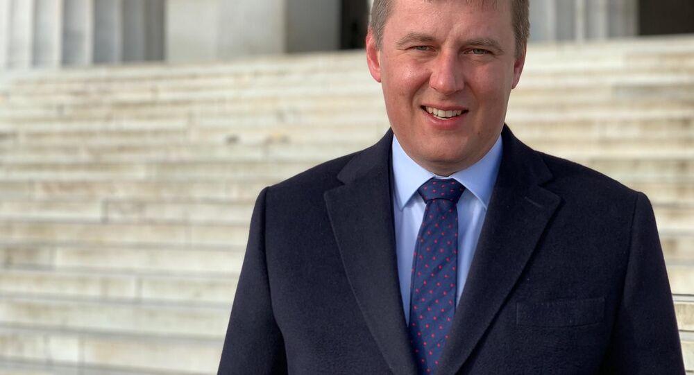 Ministr zahraničních věcí Česka Tomáš Petříček