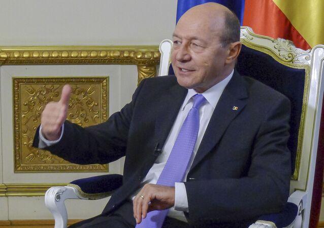 Bývalý prezident Rumunska Traian Băsescu