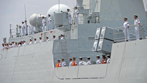Posádka čínské lodě - Sputnik Česká republika