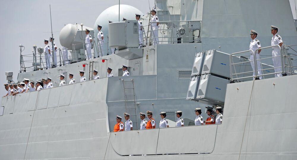 Posádka čínské lodě