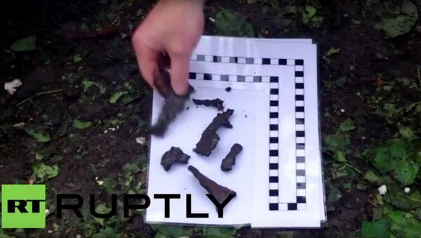 Pozorovatelé OBSE prozkoumali úlomky střel v Doněcku - Sputnik Česká republika