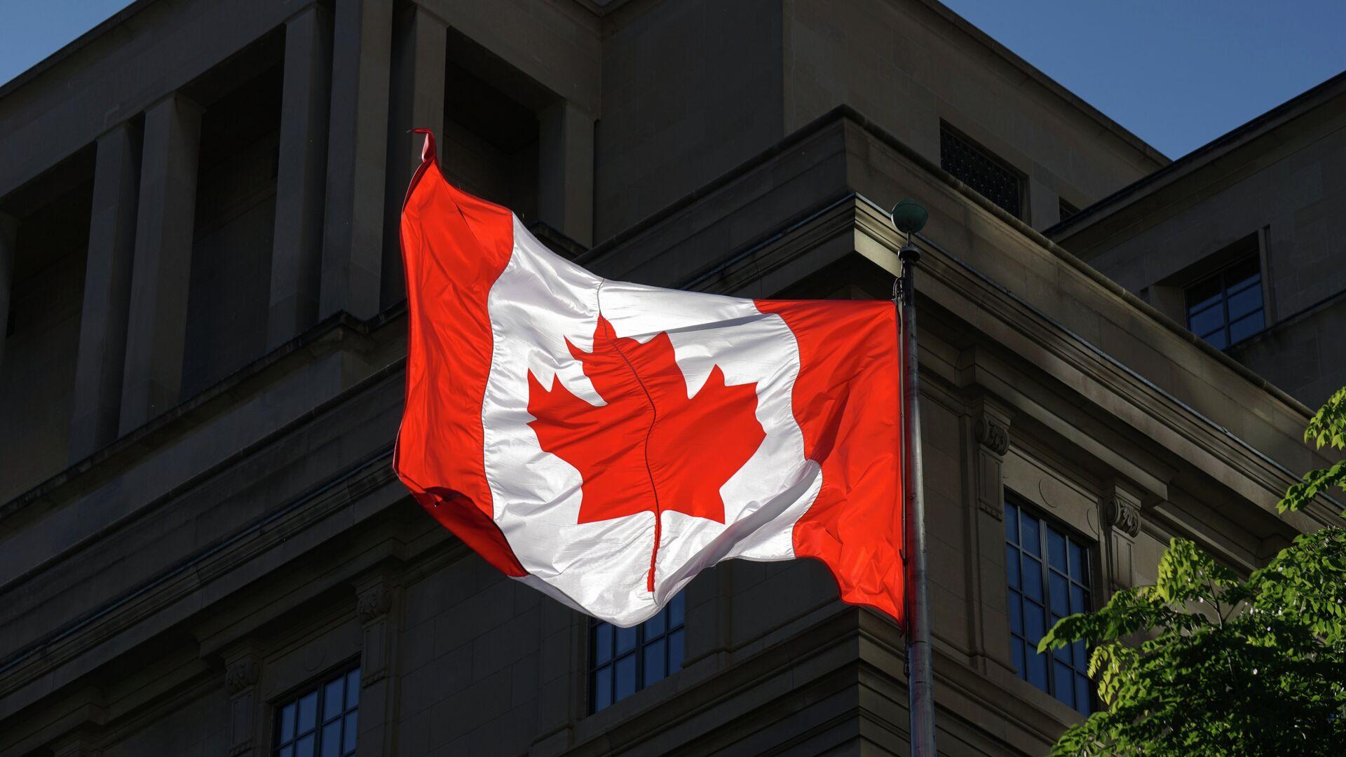Kanadská vlajka - Sputnik Česká republika, 1920, 05.06.2021